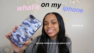 what's on my iphone 2019 (exposing my uninteresting life i guess)