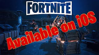 How to get fortnite battle royale on your phone ios iphone android soon! + link