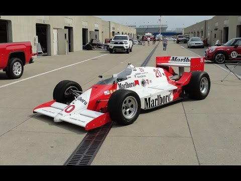 1986 Indianapolis Indy Race Car Indycar March 86C Marlboro # 20 on My Car Story with Lou Costabile