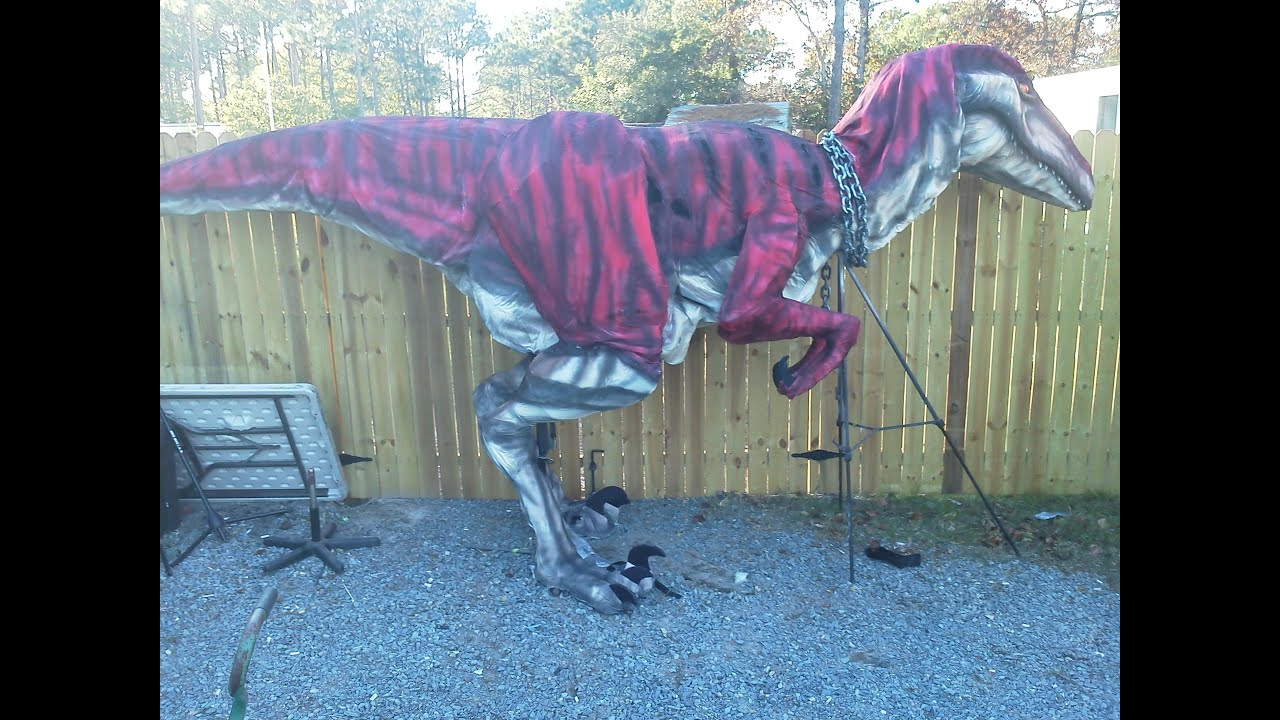 How to build a raptor costume youtube solutioingenieria Choice Image
