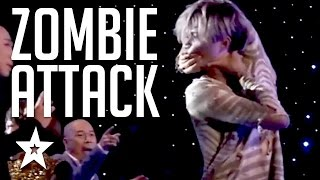SCARY Contortionist Audition On Got Talent! Zombie attack's Judges On Vietnam's Got Talent