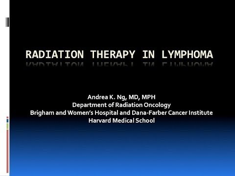 How is Radiation Therapy Used to Treat Lymphoma? | Dana-Farber Cancer Institute