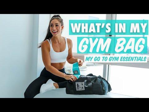 GYM BAG ESSENTIALS | What's in my gym bag