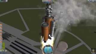 Kerbal Space Program #5 - Průzkum měsíce z orbitalní stanice