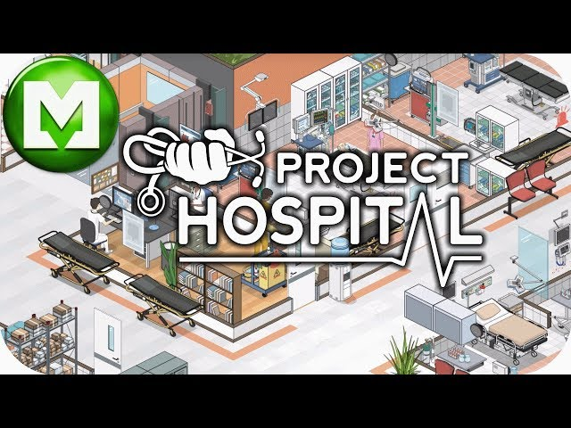 ▶Project Hospital in 4K◀ Fully Functioning Hospital, Well Nearly