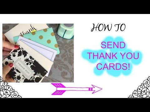 Affordable/Easy/DIY Thank You Cards: Poshmark, Vinted, Etsy
