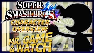 Game | Smash Bros Wii U FULL Character Overview Mr. Game Watch Guide Tutorial | Smash Bros Wii U FULL Character Overview Mr. Game Watch Guide Tutorial