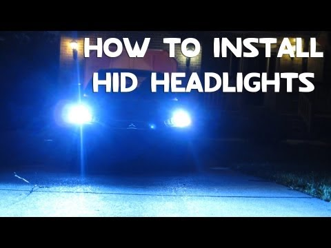 How To Install HID Headlights (Conversion Kit) [DIY]