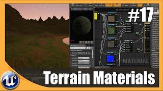 Unreal Engine 4 Beginner Tutorial Series - #17 Terrain Materials