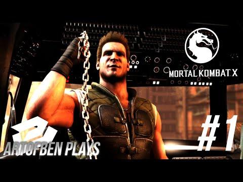Mortal Kombat X w/ArtofBen l Végigjátszás 1.rész l Magyar Kommentárral.