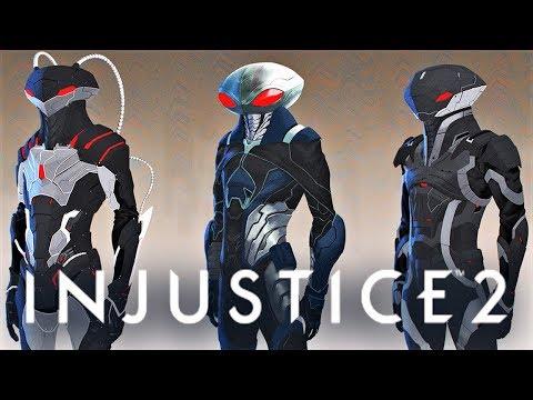 INJUSTICE 2 - Black Manta Concept Arts! Black Manta as DLC in Fighter Pack 2?