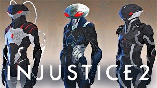 INJUSTICE 2 - Black Manta Concept Arts! Black Manta as DLC in Fighter Pack 2?