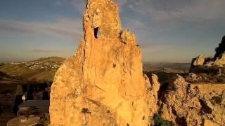 Riprese aerea  Castello Pietrarossa Caltanissetta