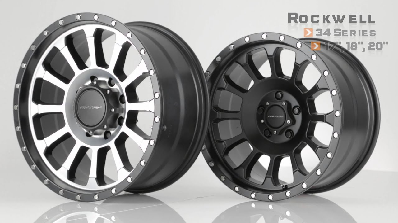 New pro comp wheels debut at sema 2015 youtube sciox Image collections