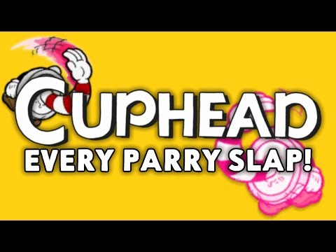 Every single thing you can parry-slap in Cuphead! (In less than 2 minutes)
