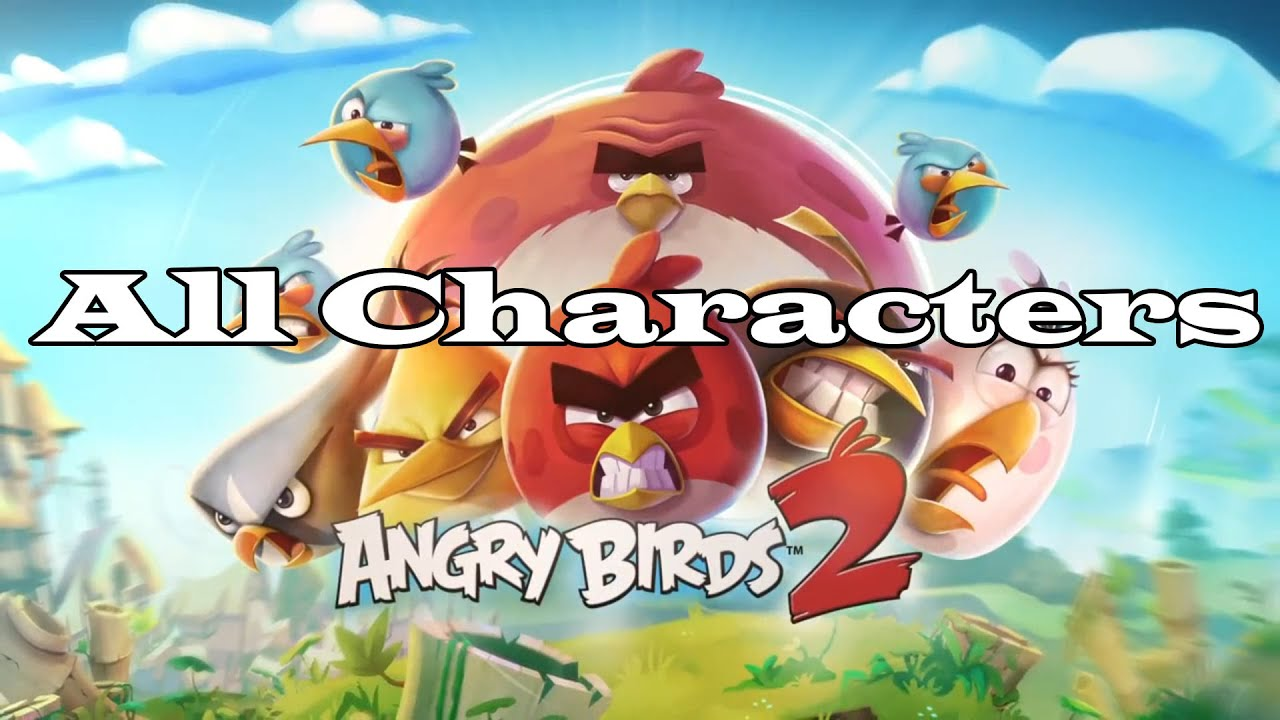 Personagem Angry Birds: All Character