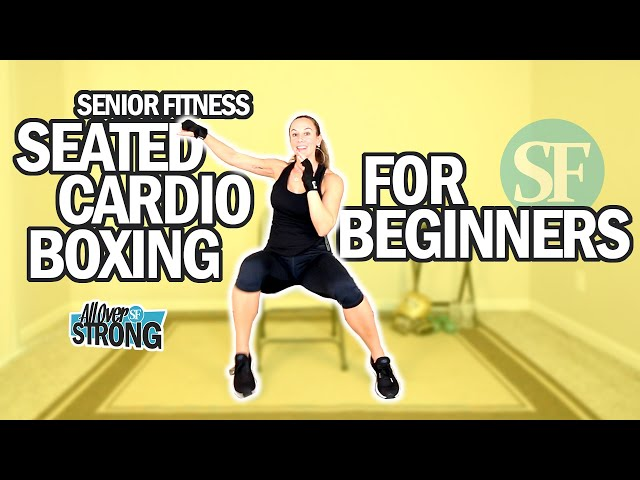 Seated Cardio Boxing Workout For Seniors And Beginners | 20 Min