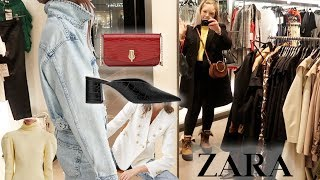 ZARA Shopping Vlog ♡ New Season - Winter to Spring Transition Pieces