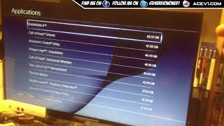 PS4 Storage Issues Need More Space To Play Games