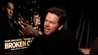 Mark Wahlberg Interview For BROKEN CITY