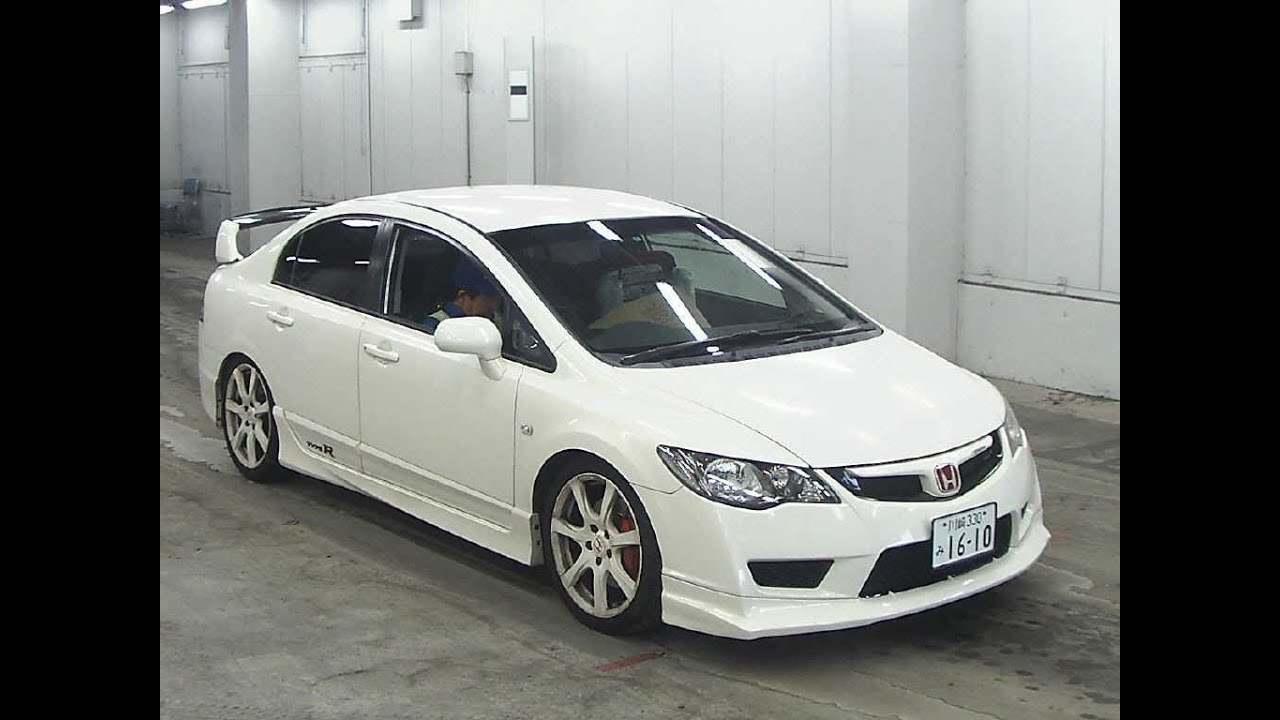 japan auciton honda civic type r accord euro type r youtube. Black Bedroom Furniture Sets. Home Design Ideas