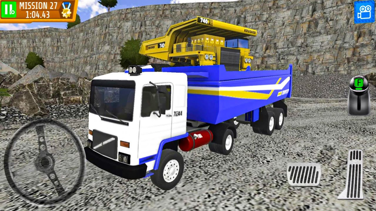 Quarry Driver 3 Giant Trucks Ep12 - Truck Games Android gameplay