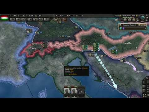 HOI IV | HUNGARY IS HUNGRY FOR SOME LAND