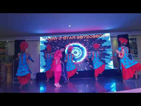 Garry 7 Star Bhangra Group Engaged Jati (miss Mahi)   Contact Marriage Functions Mr Garry 9872096064