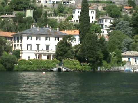 Villa Di George Clooney Lago Como Youtube