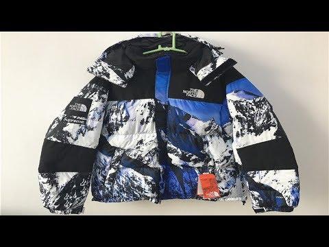 60e754130 Supreme The North Face Snow Mountain Baltoro Jacket Blue White