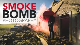 SMOKE BOMB PHOTOGRAPHY - Something you have to try once!