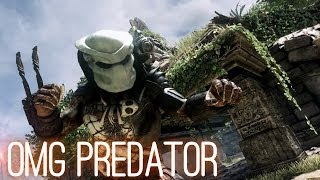 PREDATOR in Call of Duty Ghosts: Devastation DLC Gameplay Trailer