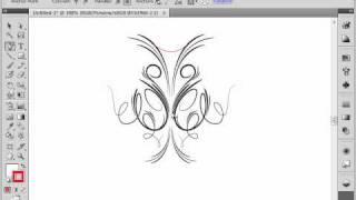 Использование инструмента Pen в Adobe Illustrator CS4 (8/39)