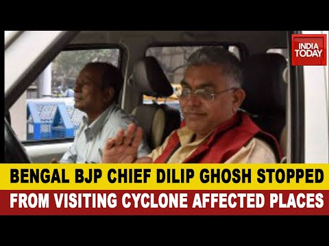 Politics Over Cyclone Amphan: Dilip Ghosh Was Stopped From Visiting Cyclone-Affected Places
