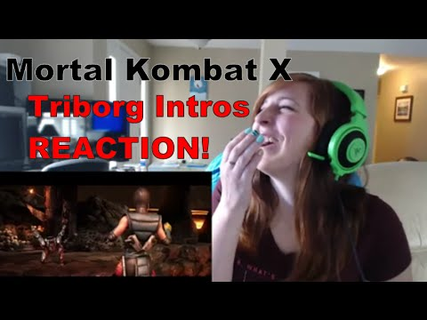 Mortal Kombat X - Triborg Intros - REACTION!