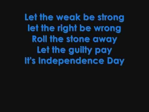 Martina McBride  Independence Day lyrics