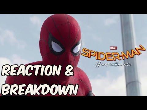 Spiderman Homecoming Trailer BREAKDOWN