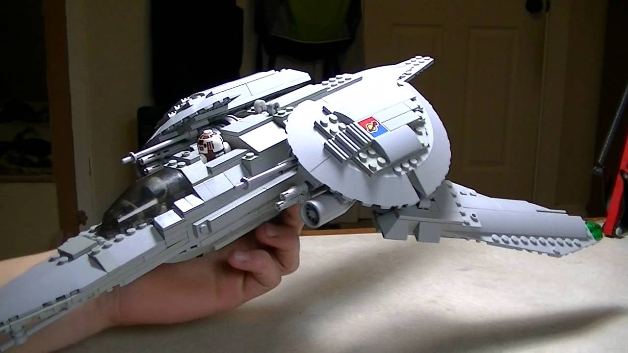 lego spaceship rwing fighter youtube