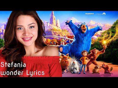 wonder-stefania (lyrics)