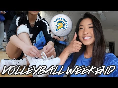 VOLLEYBALL WEEKEND IN MY LIFE | San Jose State University