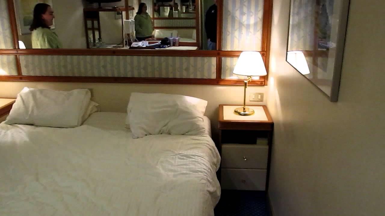 Golden Princess Alaskan Cruise Ship Room Youtube
