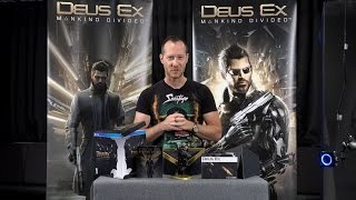 Watch our Executive Game Director JeanFranois Dugas unbox the Collectors Edition for Deus Ex Mankind Divided for the very first time Available August