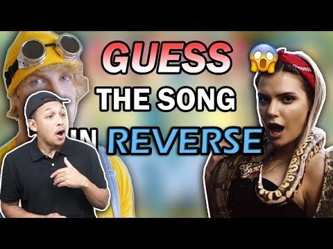 GUESS THE SONG IN REVERSE MODE (ft. Team 10, Jake Paul, Logan Paul, RiceGum)