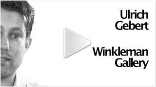 Ulrich Gebert at Winkleman Gallery: The Negotiated Order