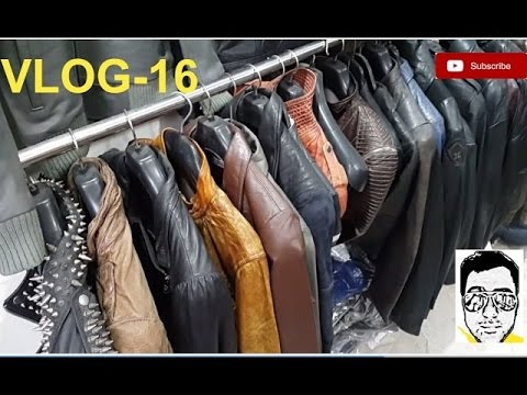 LEATHER JACKET MARKET/LIVE-FACTORY(exploring-bikers,coats,boots,purses)DELHI | gaurav sharma\vl