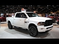 Ram Heavy Duty Night Edition Chicago Auto Show 2017 Slideshow