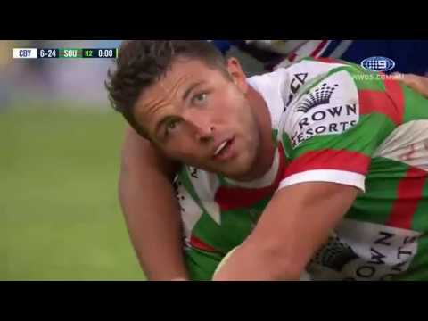 NRL Highlights: Canterbury-Bankstown Bulldogs v South Sydney Rabbitohs - Round 18