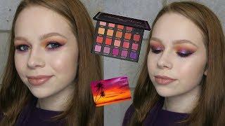 Glittery Sunset-Inspired Tutorial | Violet Voss Hashtag Palette