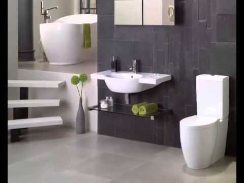 Small bathroom ideas photo gallery  YouTube