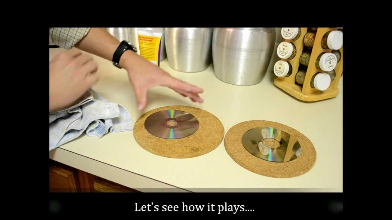 how to fix a scratched dvd or blue ray youtube. Black Bedroom Furniture Sets. Home Design Ideas